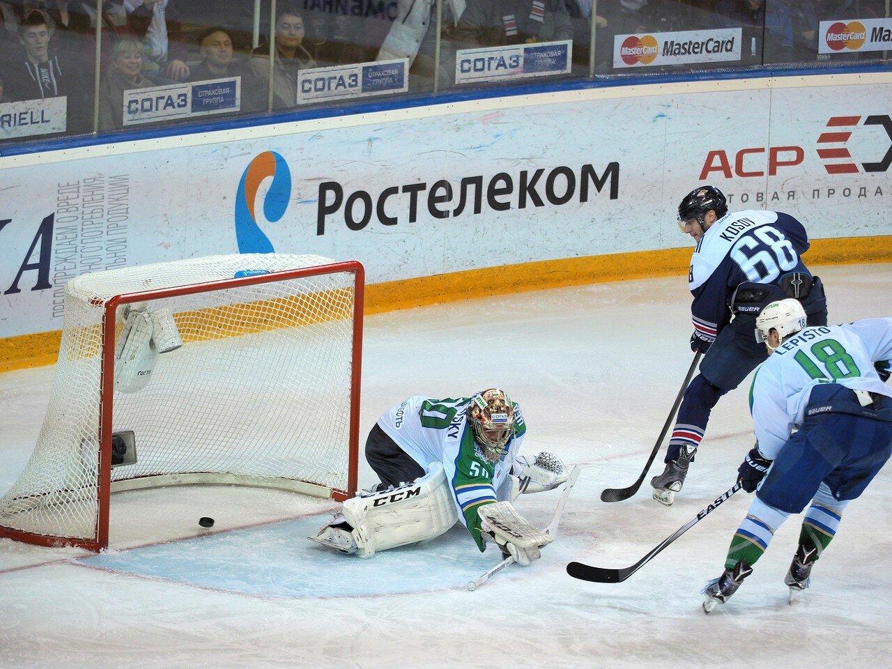 57Плей-офф 2016 Восток Финал Металлург - Салават Юлаев 25.03.2016