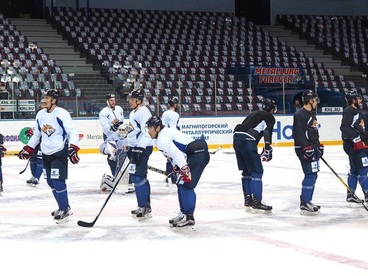 18 Открытая тренировка перед финалом плей-офф КХЛ 2017 06.04.2017