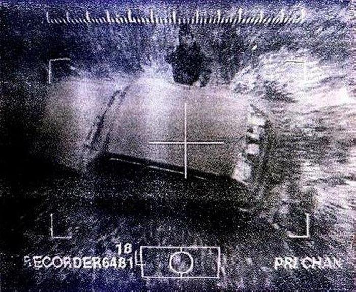 Джохар Дудаев за секунду до смерти, 21 апреля 1996 года. Снимок из управляемой ракеты.jpg