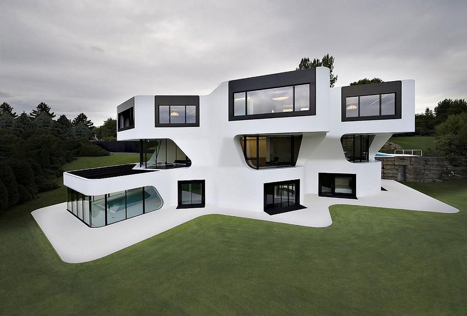 Необычный особняк в Германии
