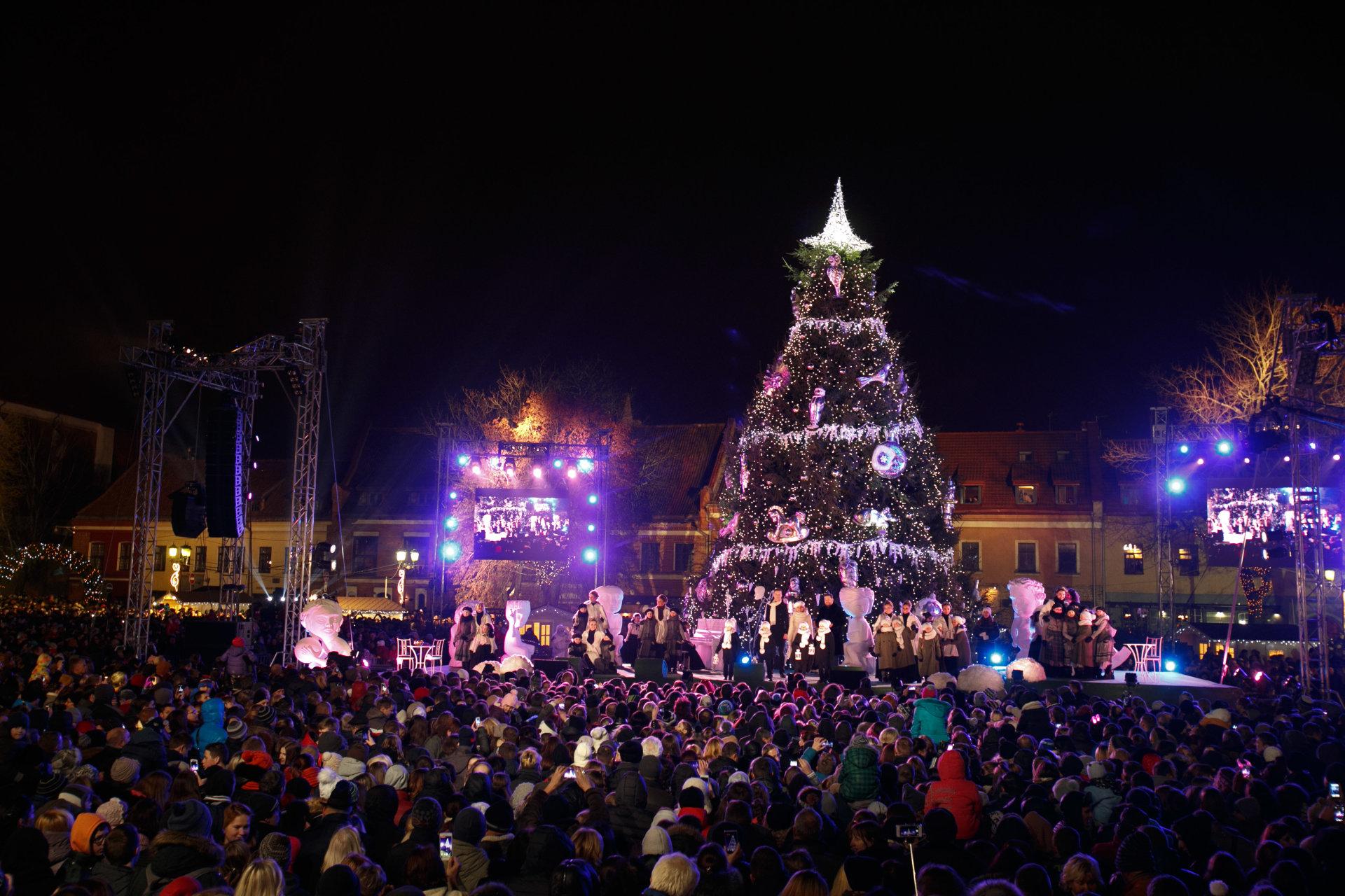 Рождественская ель - карусель