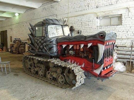 Тюненгованый трактор