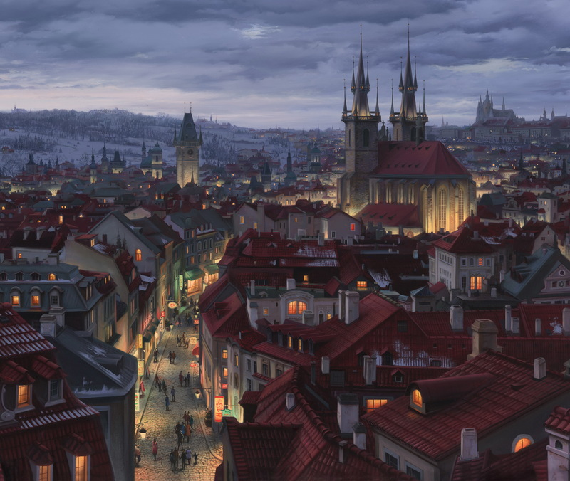 Картины Евгения Лупшина