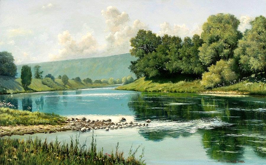 Художник Виктор Несмеянов. Пейзажи