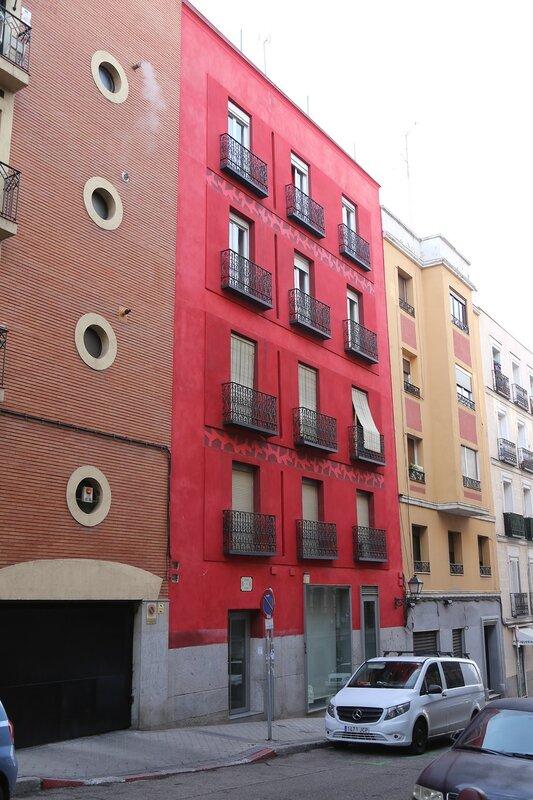 Мадрид. Улица Эстанислао Фигераса (Calle de Estanislao Figueras)
