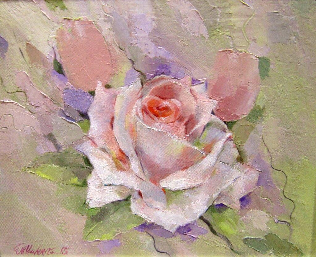 Т. А. Калмыкова (Таня Медянская). Роза.