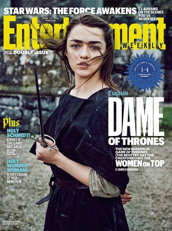 Девушки «Игры престолов» на обложке журнала Entertainment