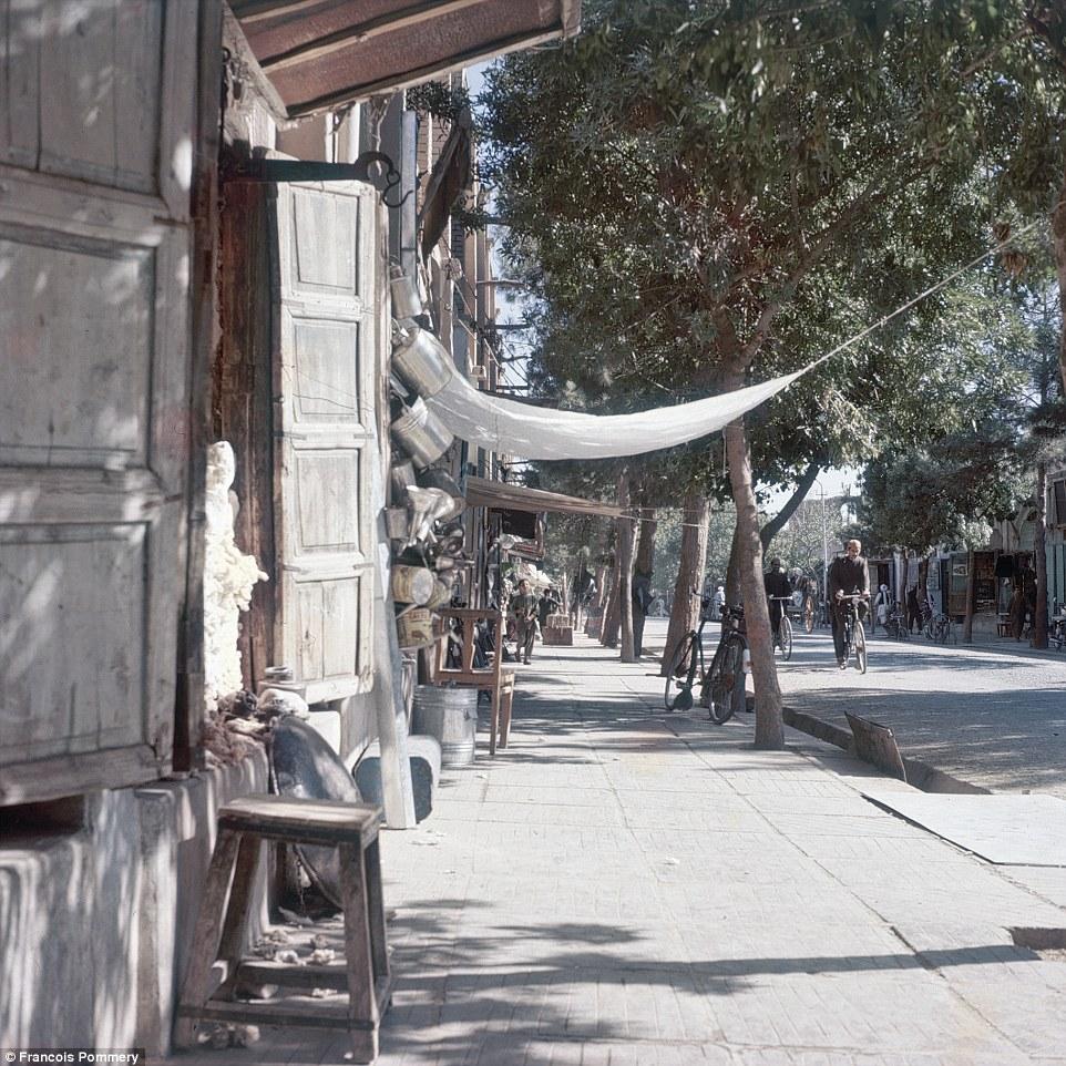 На улицах Кабула.