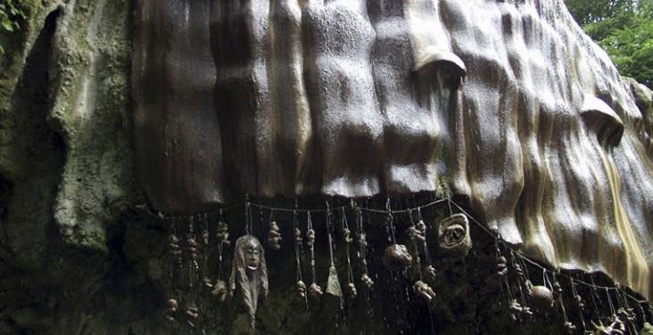 2. «Кипящий» водопад, Мексика  Водопады бывают нетолько водными, ноикаменными. Вмексиканс