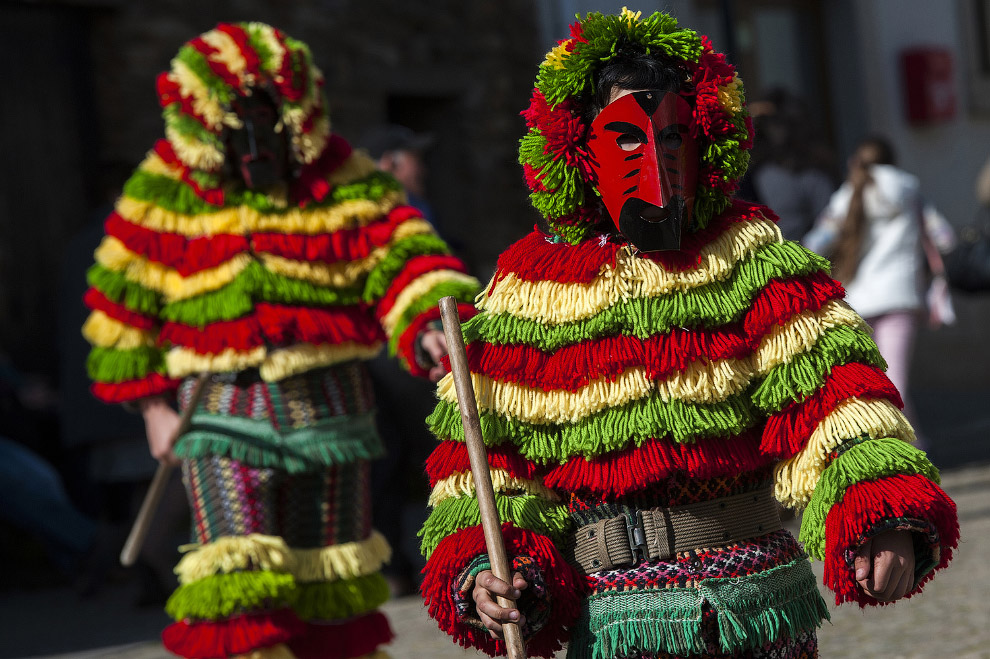 22. Сельхоз карнавал в испанской деревне, 25 февраля 2017. (Фото Susana Vera | Reuters):