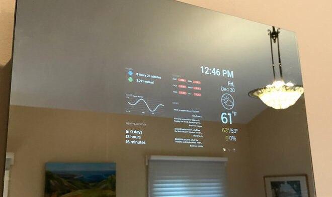 Firefly – первое в мире умное зеркало-планшет (1 фото)