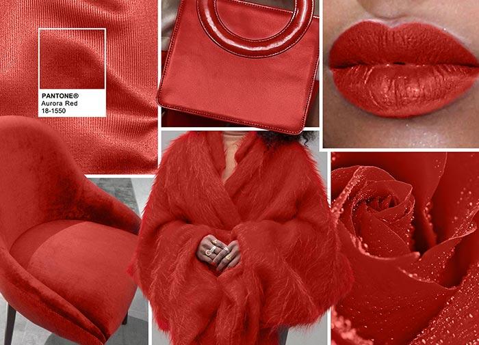 Не совсем типичный красный цвет. хотя для каждой женщины существует «свой красный» цвет. В палит