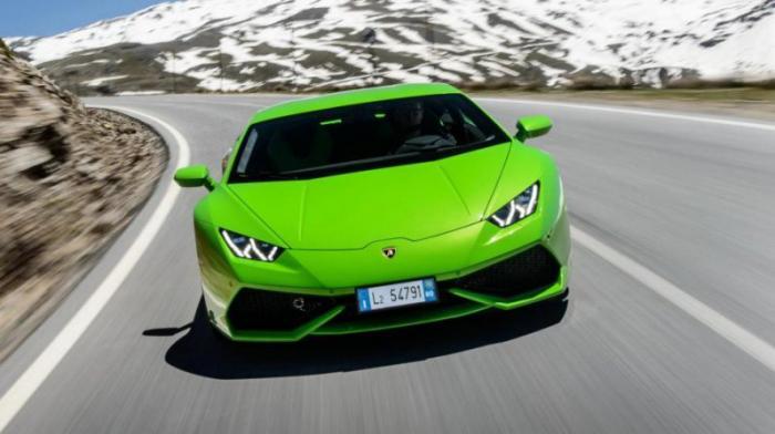 Lamborghini Huracan: 0-100 км/ч за 3,2 с