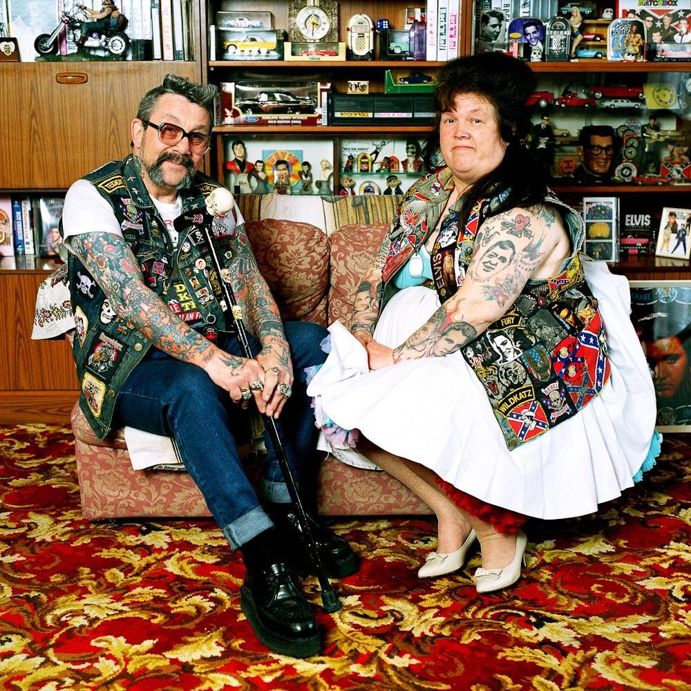 2. Мик и Пэгги Варнер. Лондонские панки из 1970-х. До сих пор счастливы вместе.