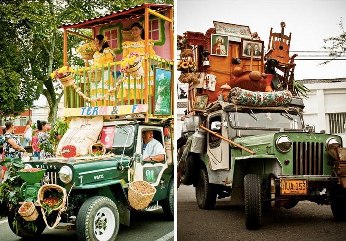 1. Груженные джипы Виллис, Армения, Колумбия Нагруженные джипы, завезенные в послевоенные годы из Ам