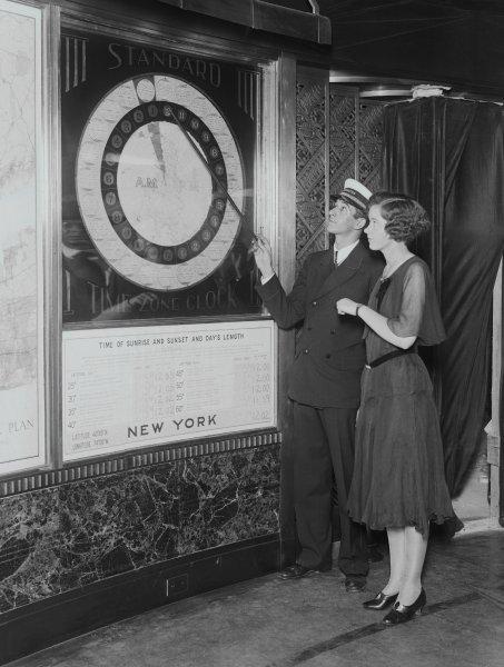 Man Explaining Daylight Savings Time
