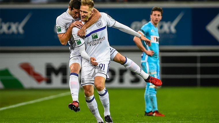 Лукаш Теодорчик забил два мяча Генту