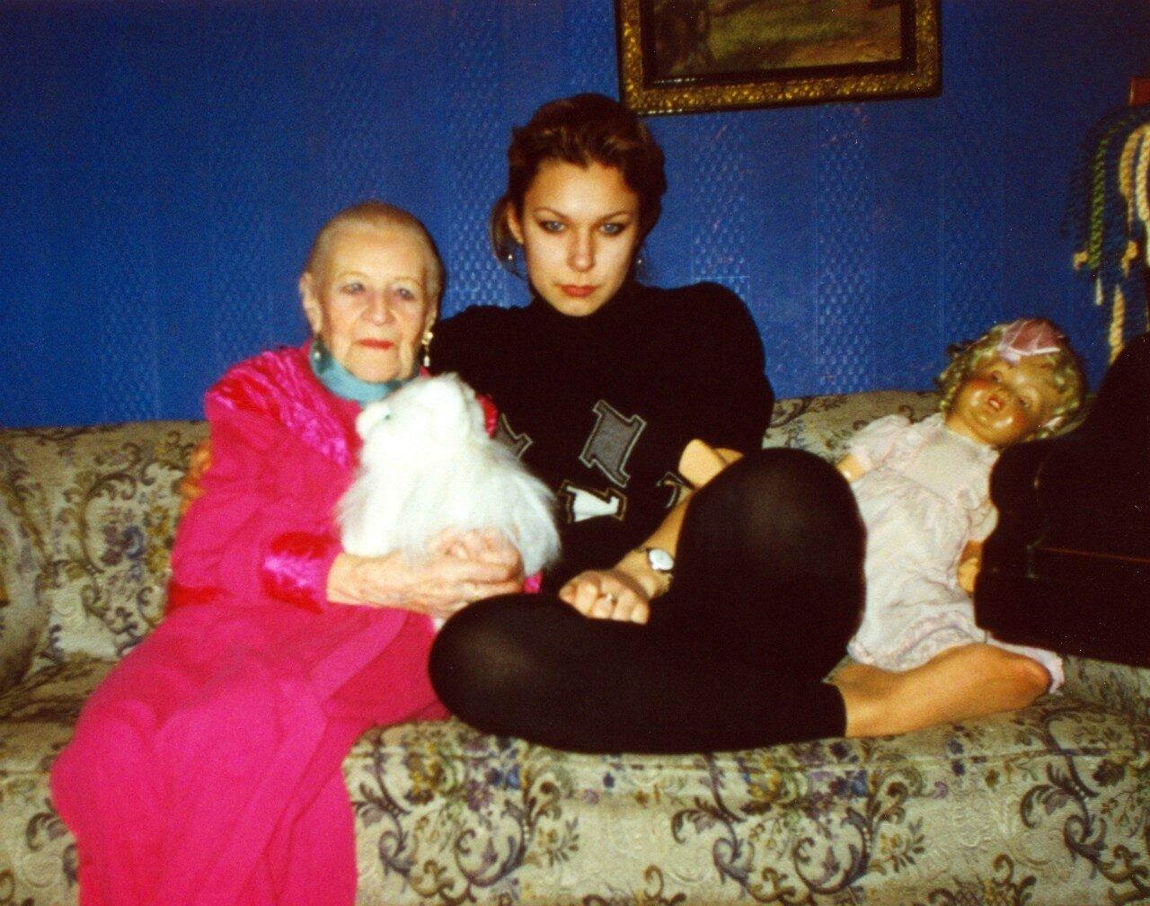 Изабелла Юрьева, 26 декабря 1996 год.