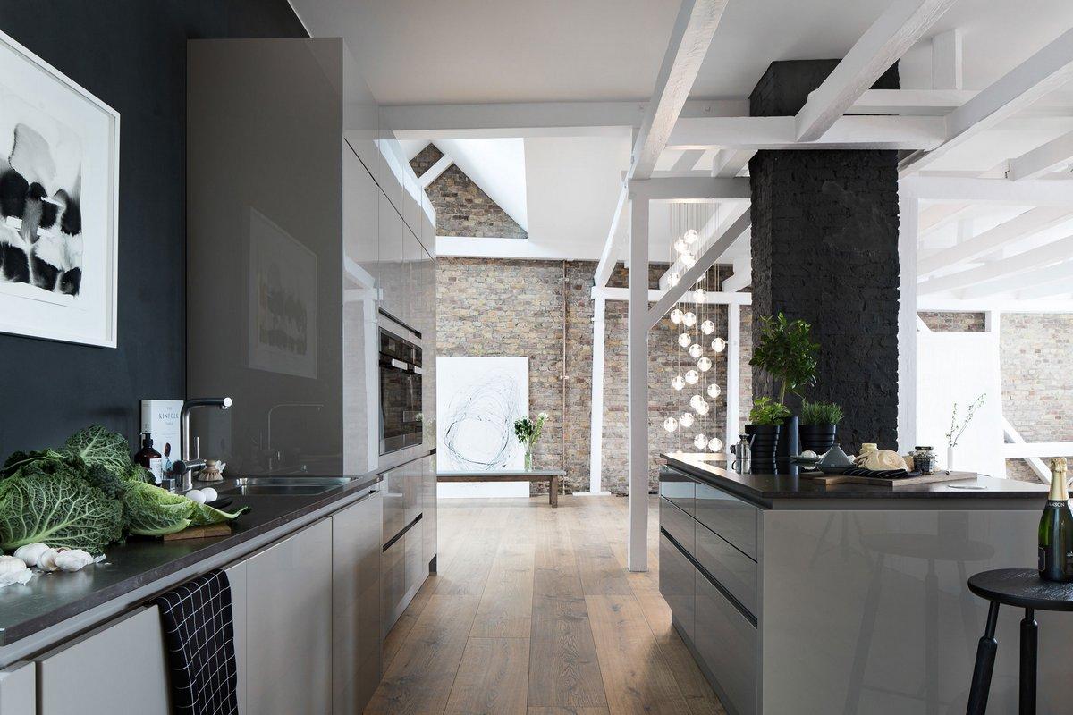 Красивая кухня в квартире