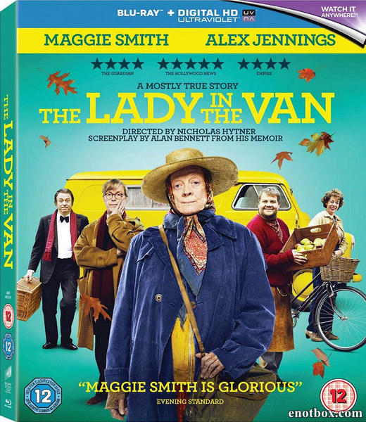 Леди в фургоне / The Lady in the Van (2015/BD-Remux/BDRip/HDRip)