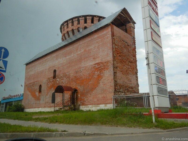 Костыревская башня с фрагментом прясла, Смоленск