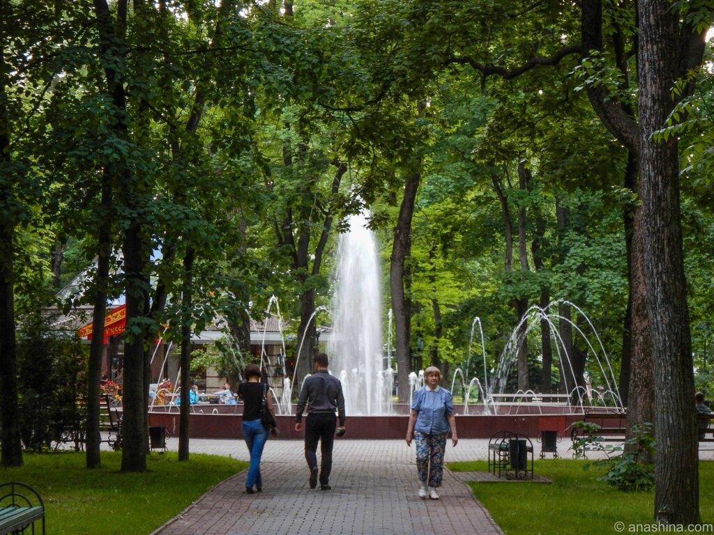 Фонтан, сад Блонье, Смоленск