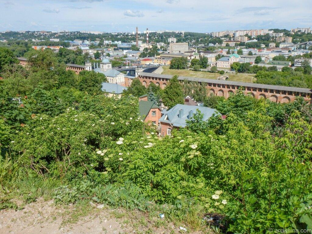 Смоленск, Соборная гора, Смоленская крепость