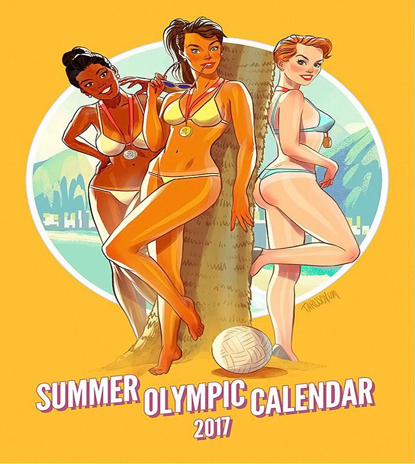 «Summer Olympic Calendar 2017»
