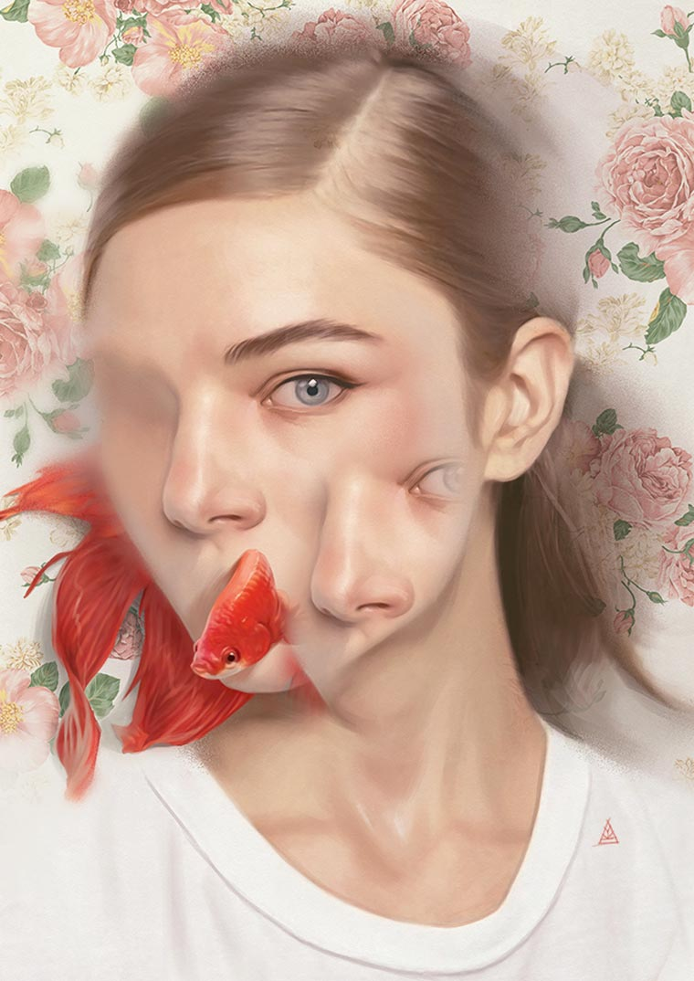 Animal Soul - The new conceptual illustrations of Aykut Aydogdu