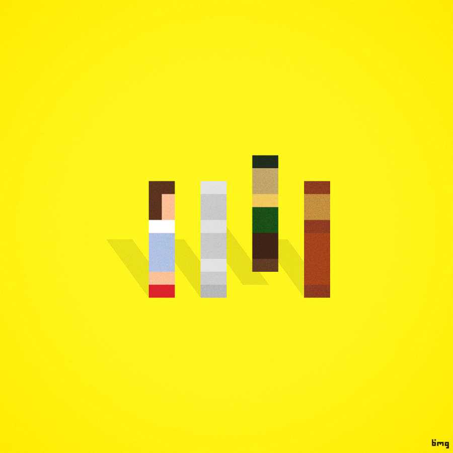Pop Culture Characters Brilliantly Recreated in Pixels