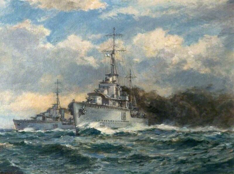 A Smokescreen, Naval Engagement