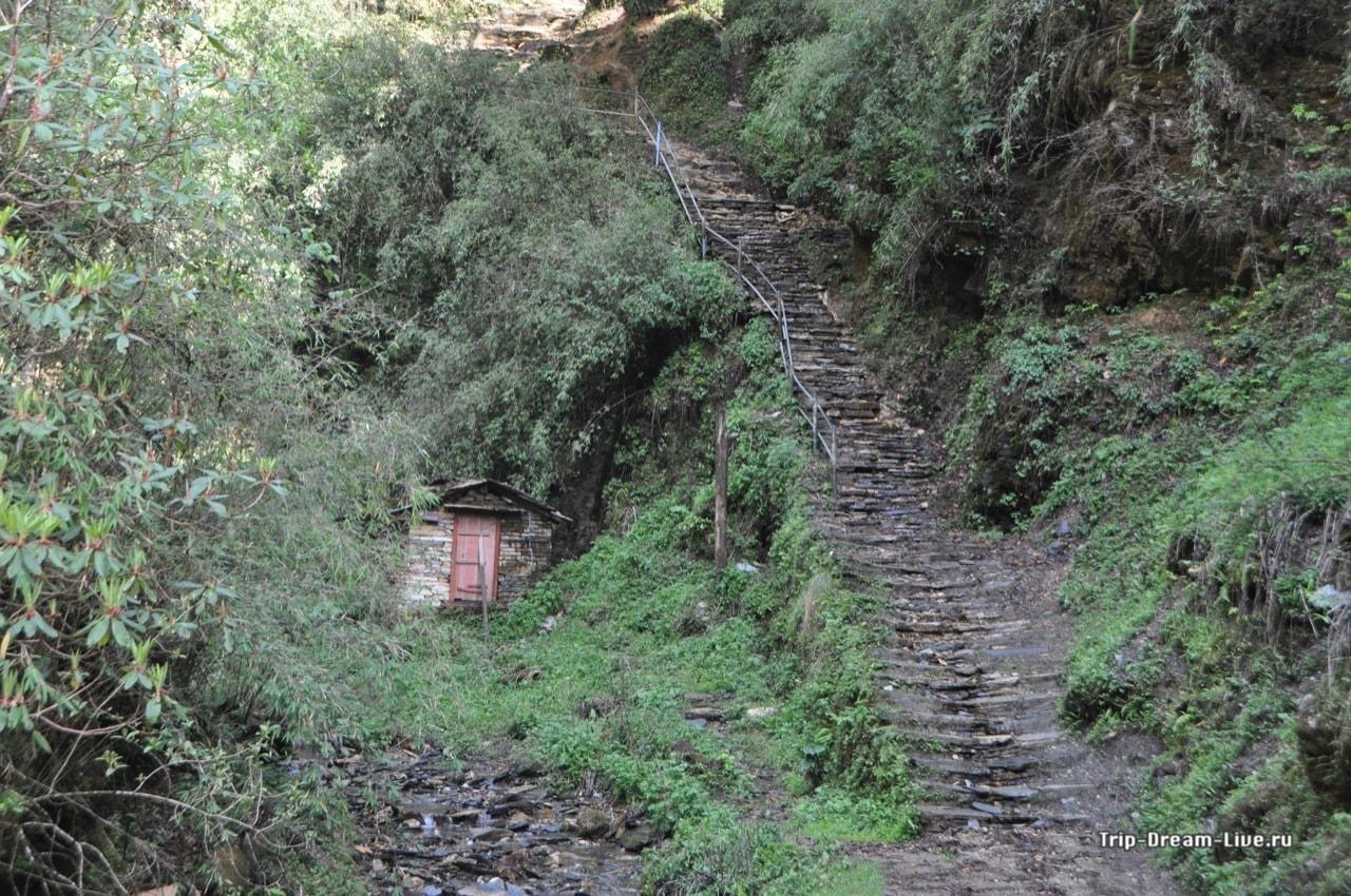 Очередная лестница