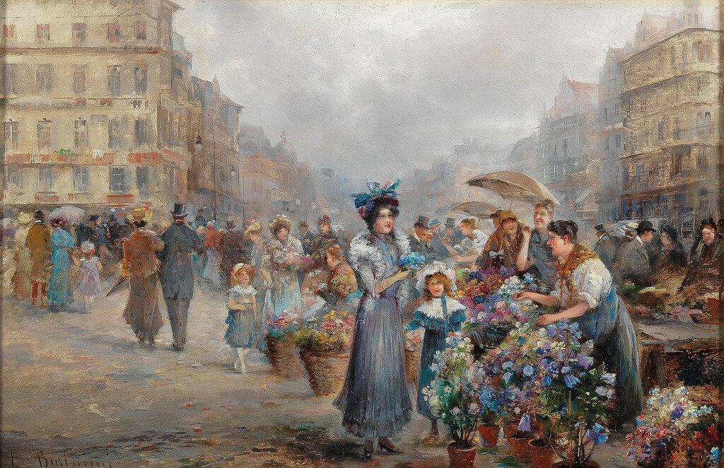 Emil Barbarini(Wien 1855–1930)Blumenmarkt