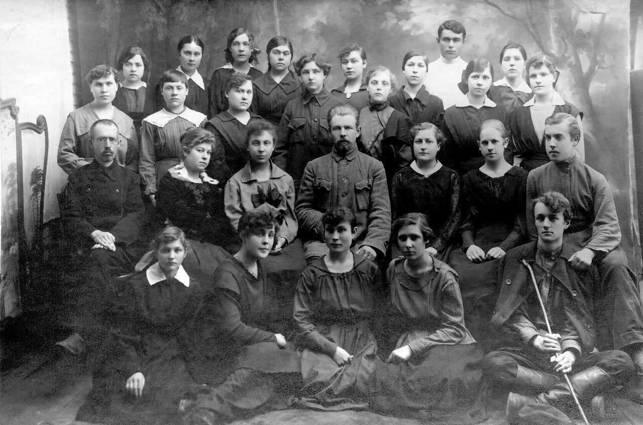 1921. Скопинская вторая трудовая школа