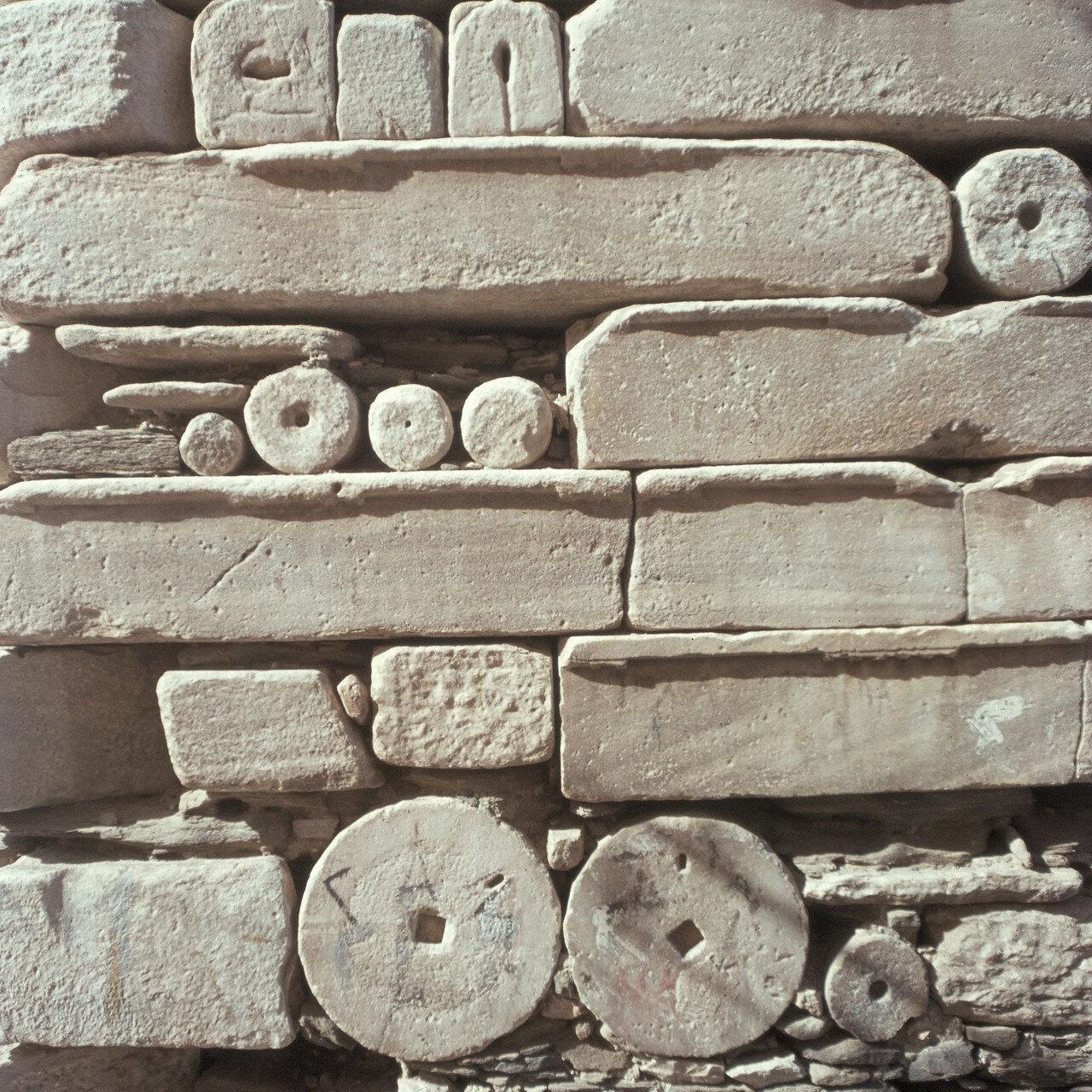 Парос. Парикия. Древние архитектурные элементы, 2-я половина IV века
