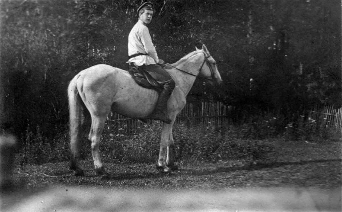 Окрестности Рыбинска. Село Головино.  30 июля 1902 года