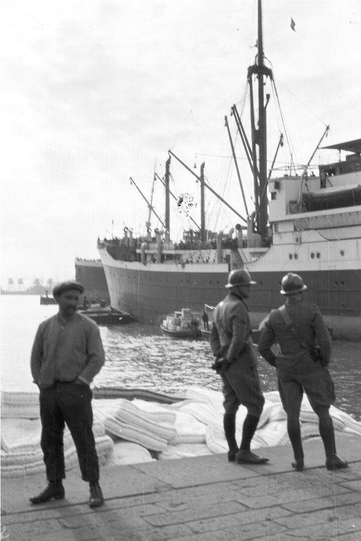 05. Генуя. Частичный вид судна «Фульда»