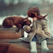 Малыш и козленок