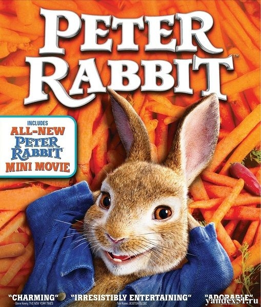Кролик Питер / Peter Rabbit (2018/WEB-DLRip)