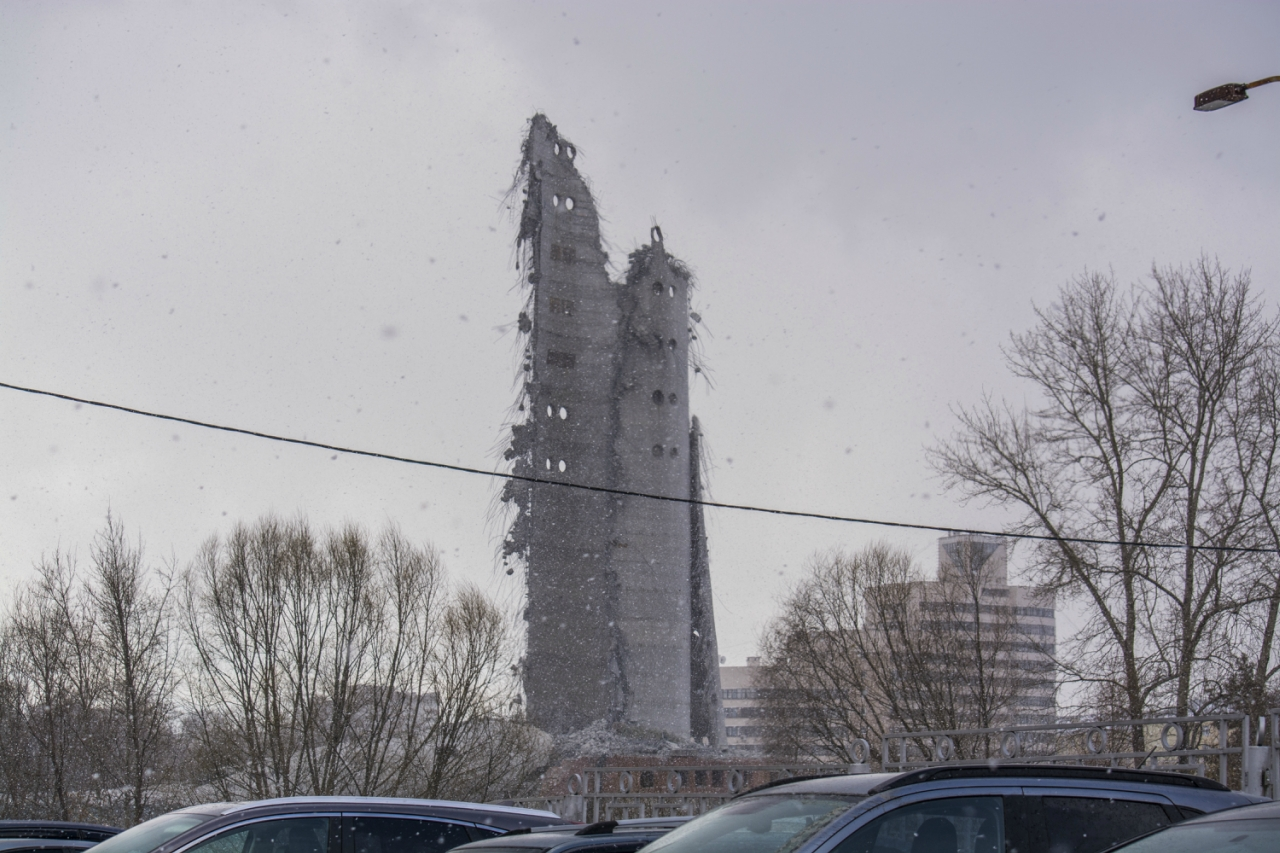 остатки нашей башни