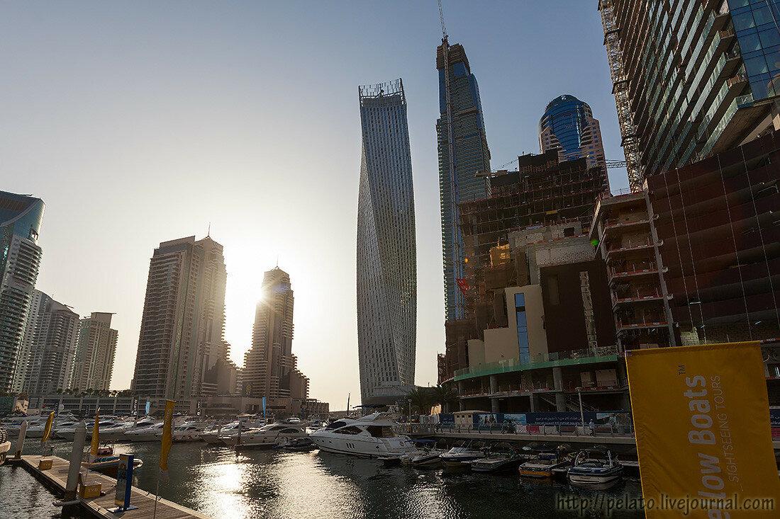 Yacht Club Marina Марина Dubai Дубаи ОАЭ UAE