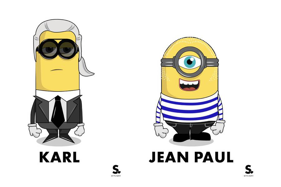Minions Turned into Fashion Icons