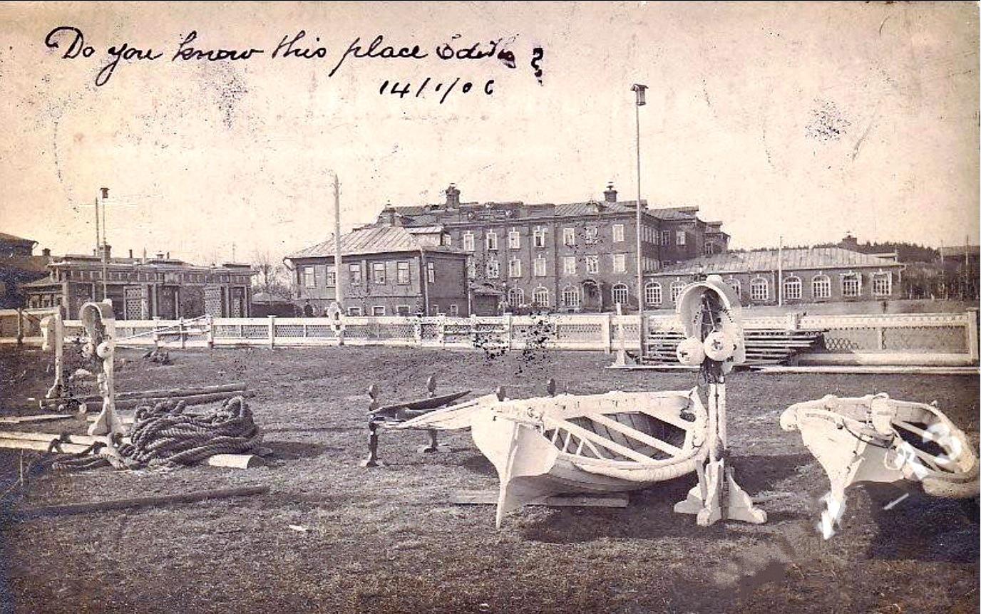 Вид от р.Клязьма на Глуховскую площадь