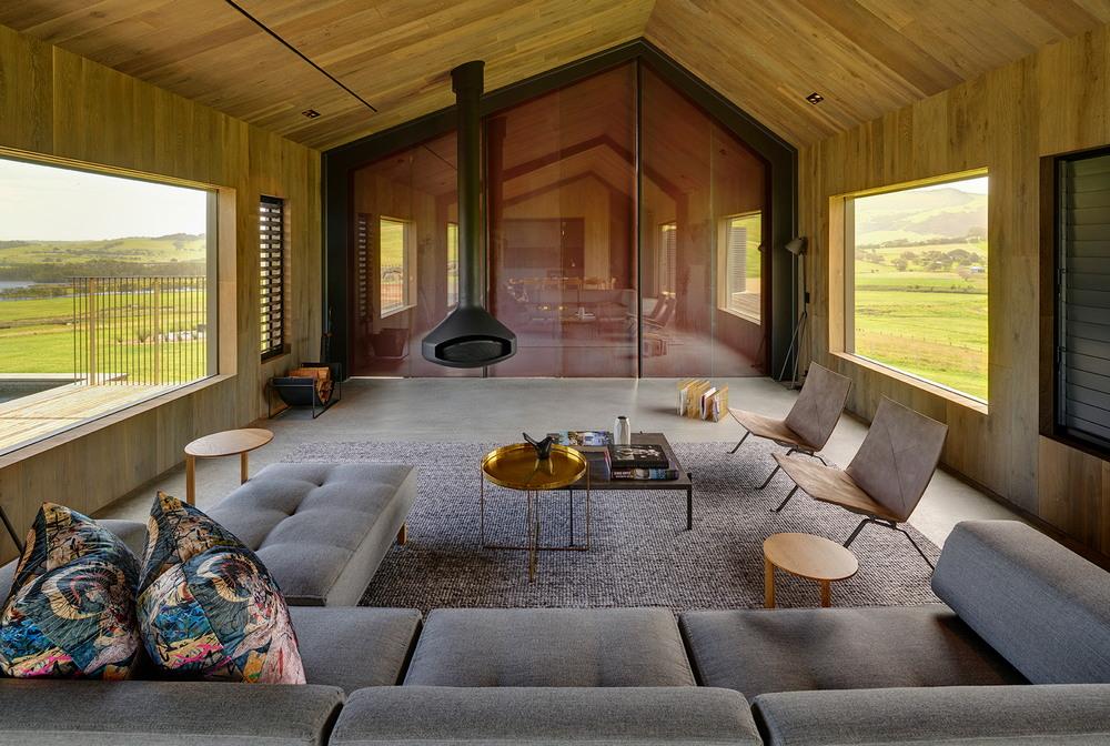 Прибрежный дом семьи мецената и миллиардера в Австралии