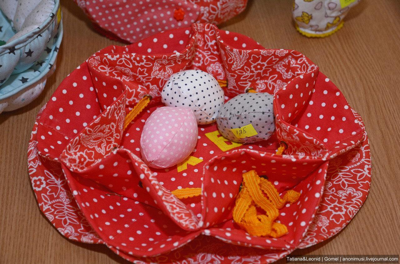 Пасха. Окрашивание яиц в филиале Ветковского музея