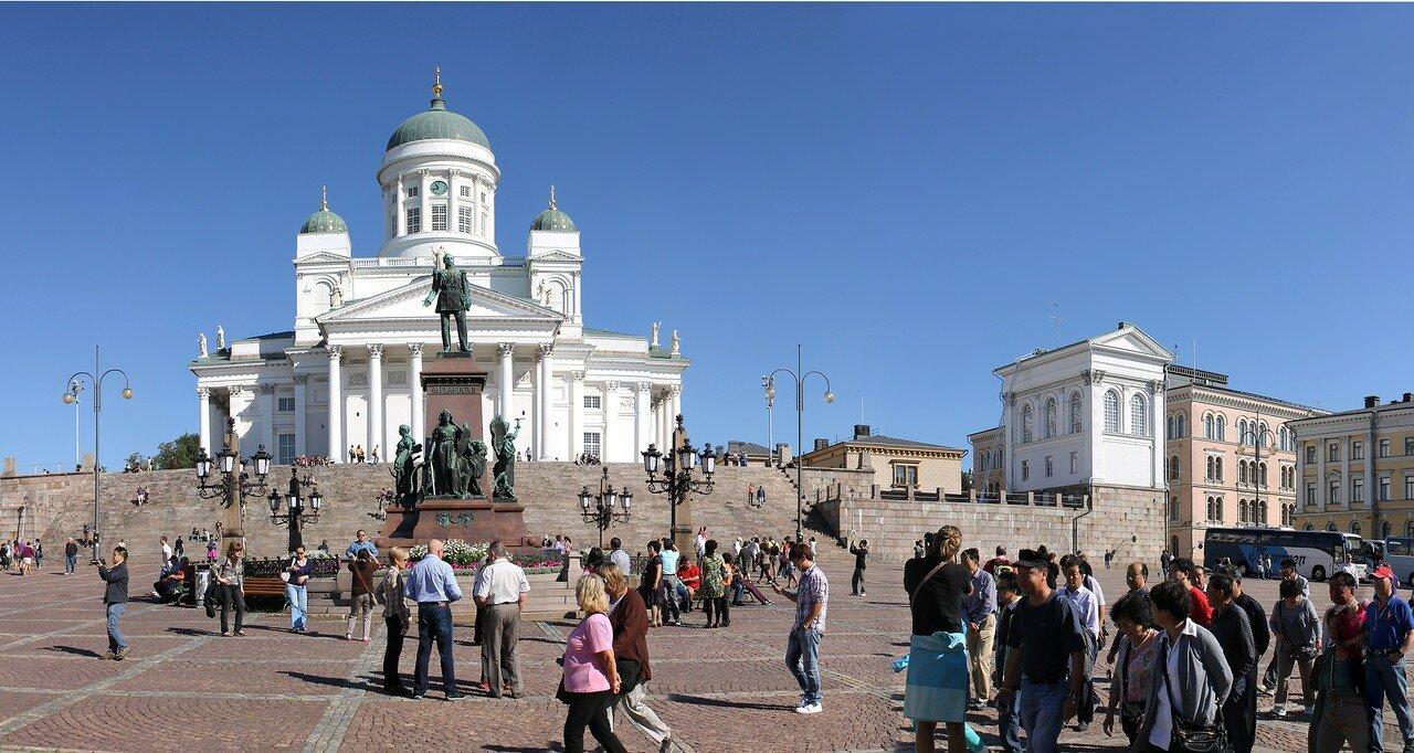 Сенатская площадь (Senaatintori), Хельсинки