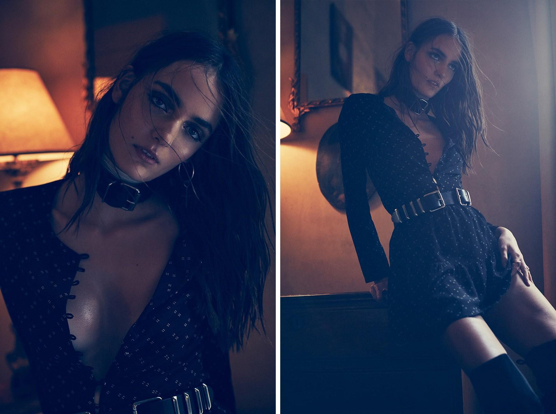 Зюзанна Бьох в коллекции модной одежды Flynn Skye fall 2016 - Zuzanna Bijoch by Zoey Grossman
