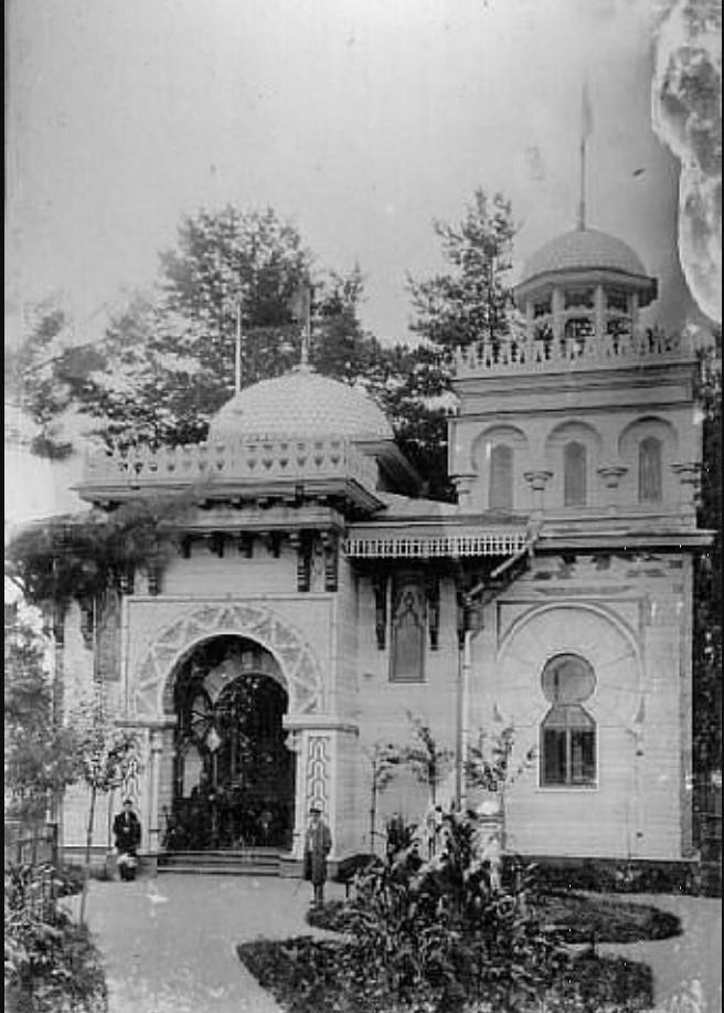 Павильон на Богородском циклодроме