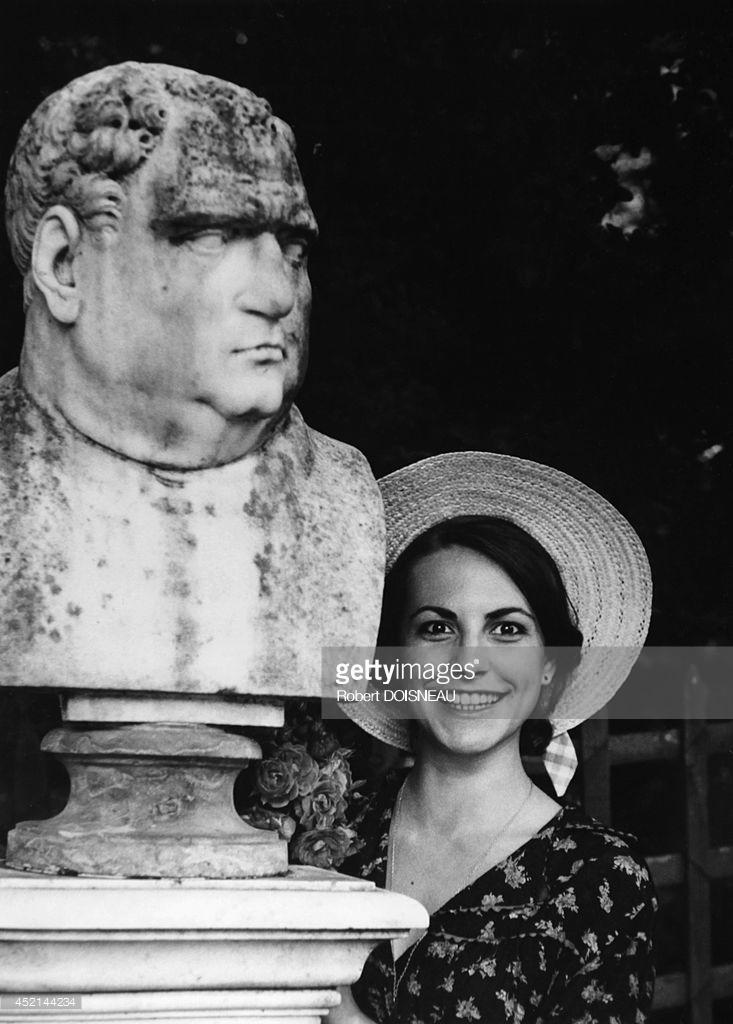 1979. Портрет французской поп-певицы и актрисы Лио в Париже