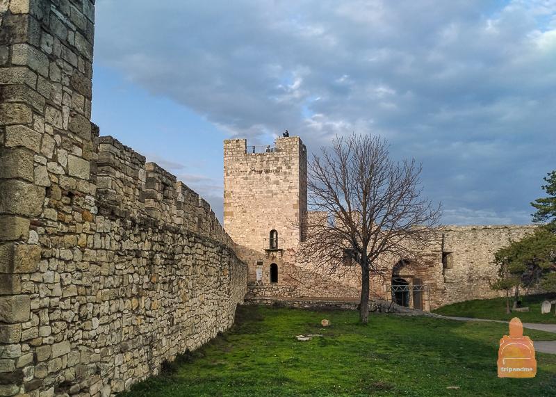Правая часть Белградской башни